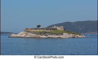 Montenegro, island, fort
