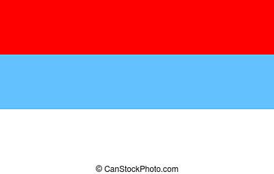 Montenegro. - Montenegro flag.