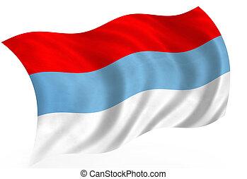 Montenegro. - Montenegro waving flag