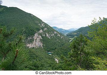 Montenegro, Tara canyon