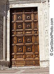 Montepulciano - church of Saint Agostino