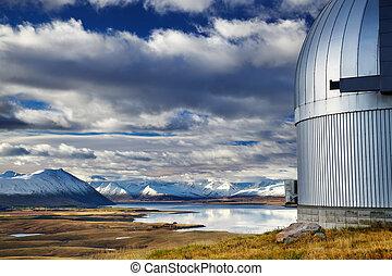 montera, john, observatorium, insjö tekapo, nya zeeland