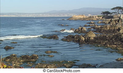 Monterey Lovers Point Tilt - XLS of Monterey Bay with...