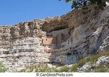montezuma zamkowy narodowy pomnik, arizona
