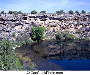 Montezuma's Well National Monument in Rimrock, Arizona