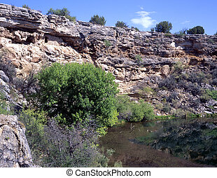 Montezuma's Well National Monument in Rimrock