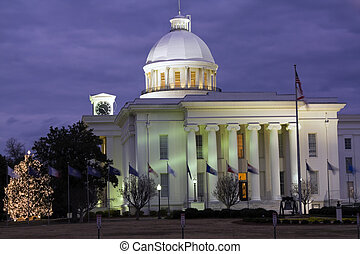 State Capitol of Alabama in Montgomery.
