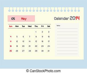 monthly., カレンダー, may., スケジュール