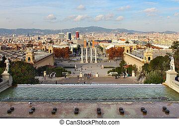 Plaza de Espanya in Barcelona