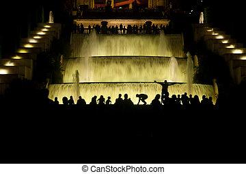 montjuic fountain