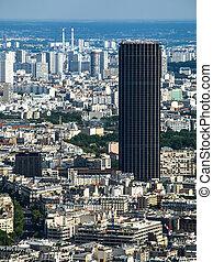 Montparnasse Tower in Paris (France)