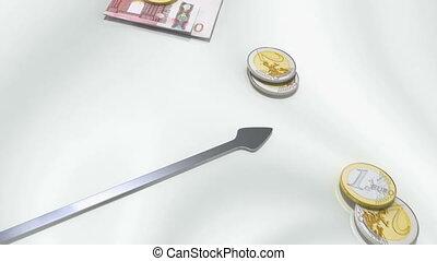 montre, euro