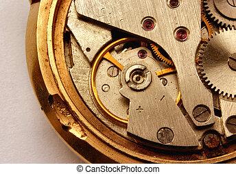 montre, vendange, mechan