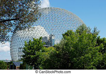 Montreal biosphere - The geodesic dome called Montreal...