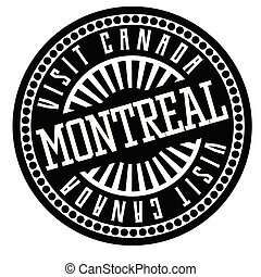 Montreal black and white badge