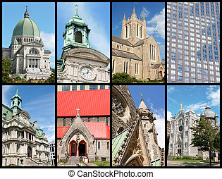 Montreal landmarks, Canada - Some of the most remarkable...