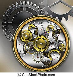 montres, mécanique