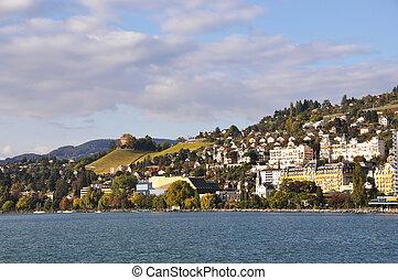 Montreux, Geneva lake, Switzerland