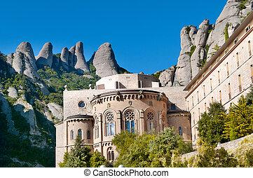 montserrat, monastère, espagne