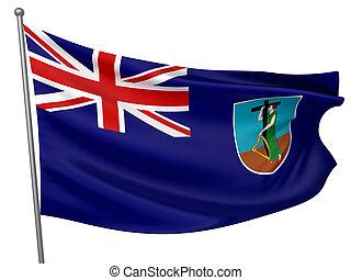 Montserrat National Flag