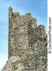 Montsoriu Castle in the Montseny Natural Park, Catalonia Spain