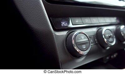 monture, climat, voiture, controle., climatisation, système...