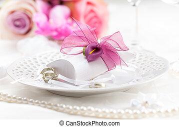 monture, endroit, mariage