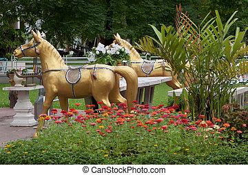 Monument at the Dusit Park; Thailand