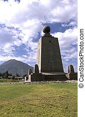 Monument- Ecuador - La Mitad del Mundo (middle of the World...