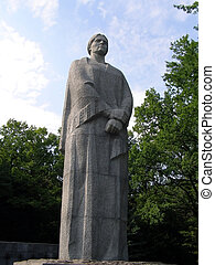 monument in Kharkiv (Ukraine)
