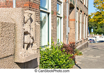 Monument in the Dutch city of Dordrecht, Netherlands