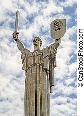 """Monument Motherland - Monumental statue of the """"Mother ..."""