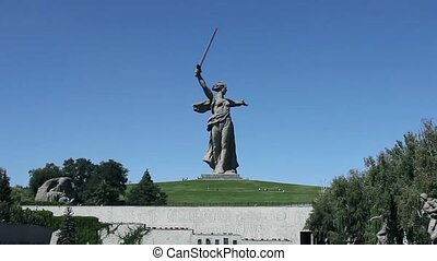Monument Motherland mother - The monument of Motherland...