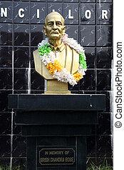Monument of Girish Chandra Bose in Kolkata, India - Monument...