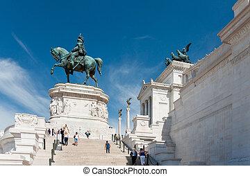Monument of the Vittorio Emanuele II