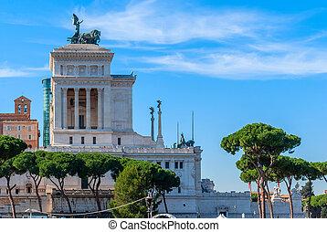 Monument of Victor Emmanuel: Altare della Patria, Rome, ...
