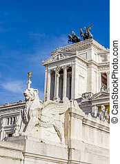 Monument of Victor Emmanuel, Rome, Italy