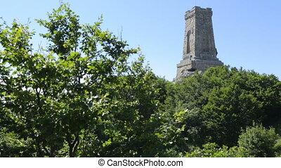 """Monument on mountain """"Shipka"""" in Bulgaria"""