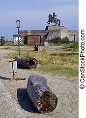 Monument on the coast