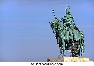 Monument St. Matthias in Budapest