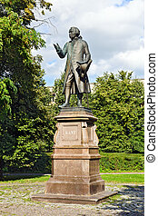 Monument to Emmanuel Kant. Kaliningrad (Koenigsberg before ...