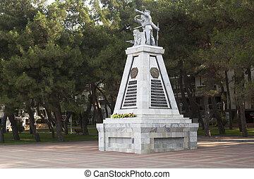 """Monument """"To Fighters for Soviet Power"""" on the waterfront Gelendzhik, Krasnodar region"""