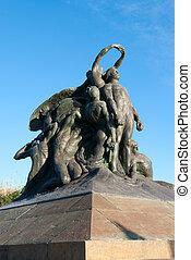 monument to Garibaldi