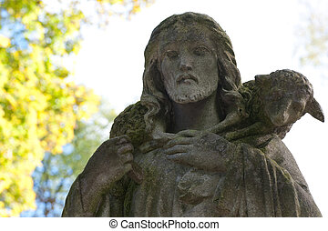 Monument to Jesus. Since its creation in 1787 Lychakiv ...