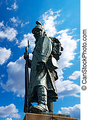 Monument to the Austrian Soldier - Tarvisio Italy - Habsburg...