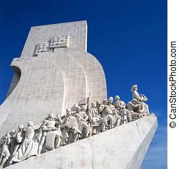 Monument to the Discoveries,Lisbon - The Padrao dos...