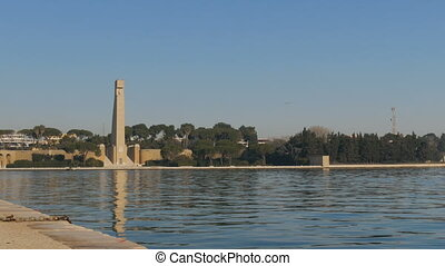 Monument to the Italian sailors in Brindisi - Monument to...