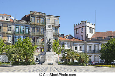 Monument to the portuguese Soldiers