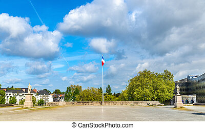 Monument to the victims of the First World War in Nantes, ...