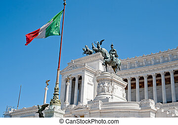 Monument to Vittorio Emanuele II. Rome, Italy